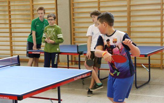 Zawody Gminne w drużynowym tenisie stołowym