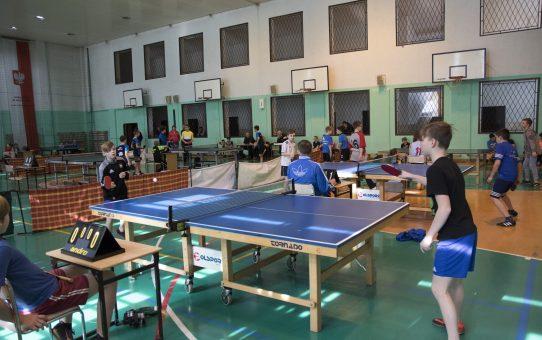 Fotorelacja z zawodów powiatowych w tenisie stołowym 27.02.2018