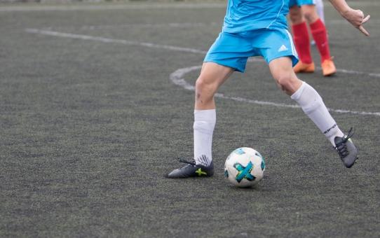 Trening piłkarski w domu
